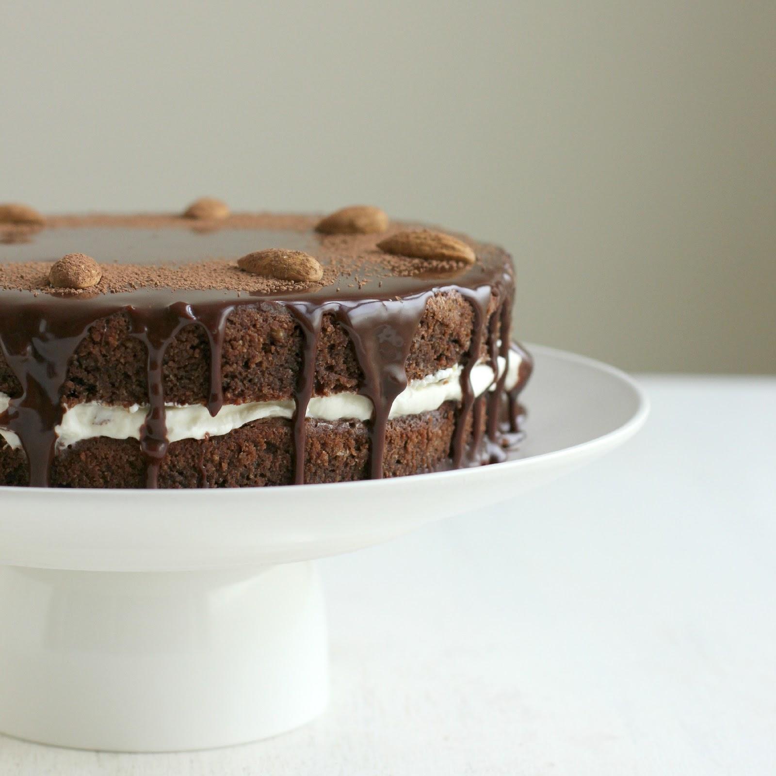 Gluten Free Chocolate Almond Cake Recipe Reine De Saba My Darling Lemon Thyme