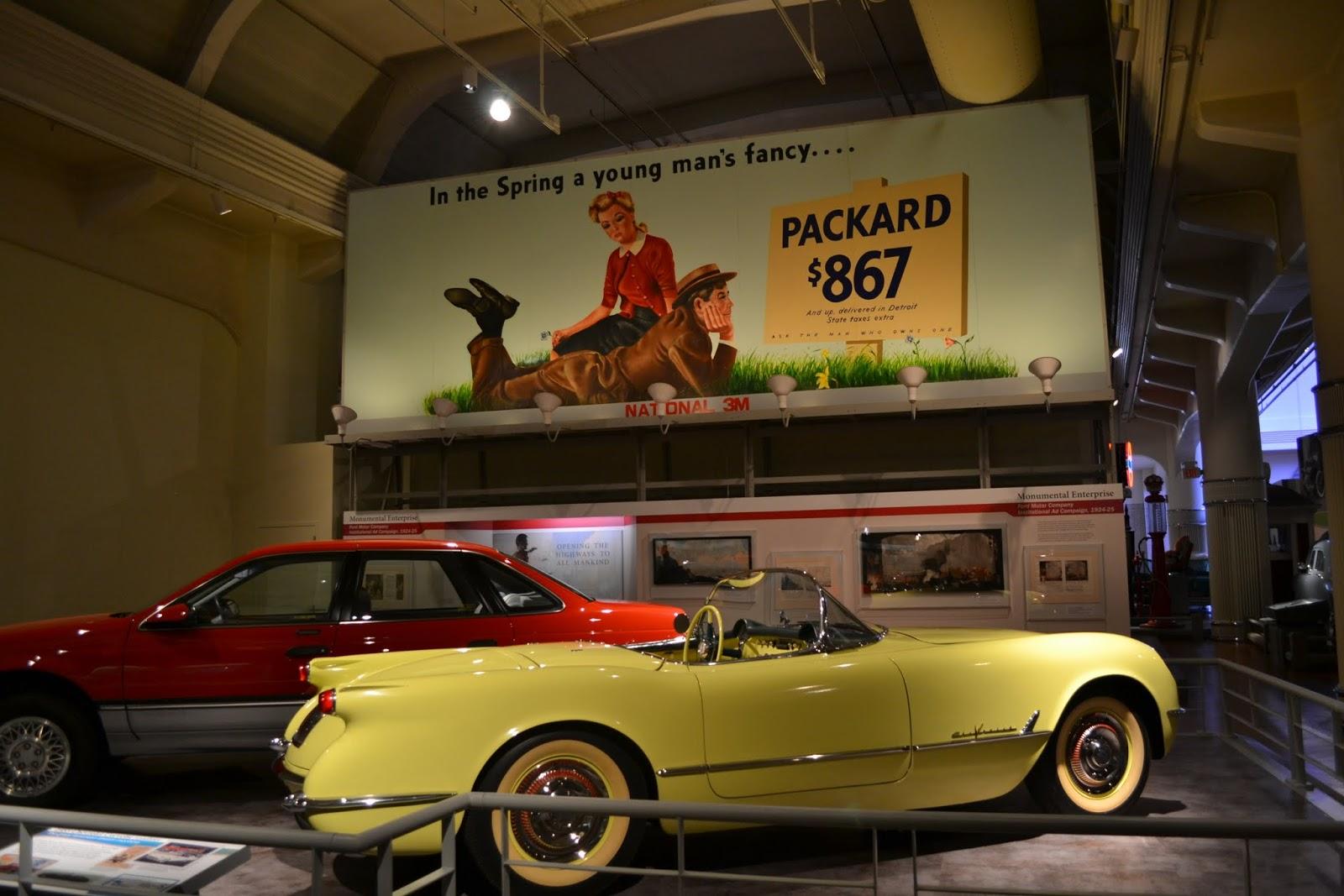 Chevrolet Corvette. Музей Генри Форда. Дирборн, Мичиган (Henry Ford Museum, Dearborn, MI)