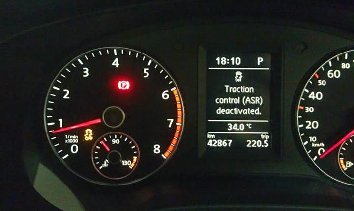 I am nuts: Jetta MK6 ESC/Traction Control Off Button