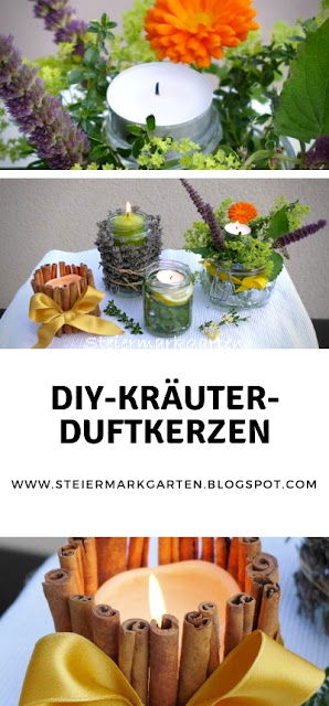 DIY-Kräuter-Duftkerzen-Steiermarkgarten