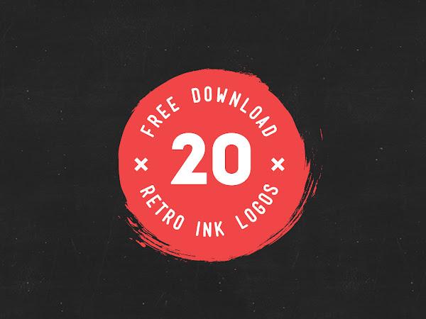 Download 20 Ink Logos Free