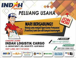 indah logistik cargo, agen indah logistik, cara gabung agen indah cargo, indah cargo jambi