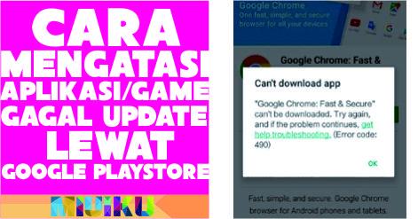 cara mengatasi aplikasi-game gagal update di xiaomi