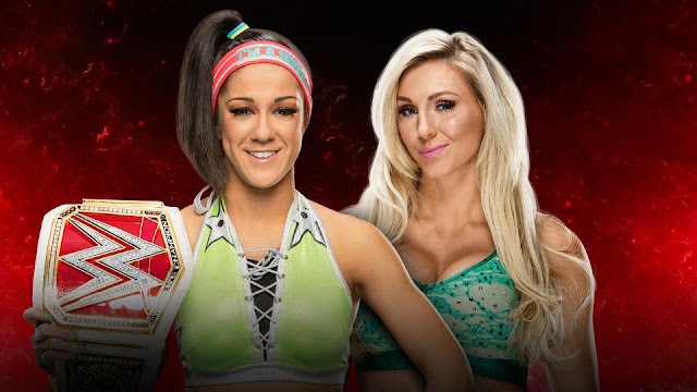 Raw Women's Champion Bayley vs. Charlotte Flair