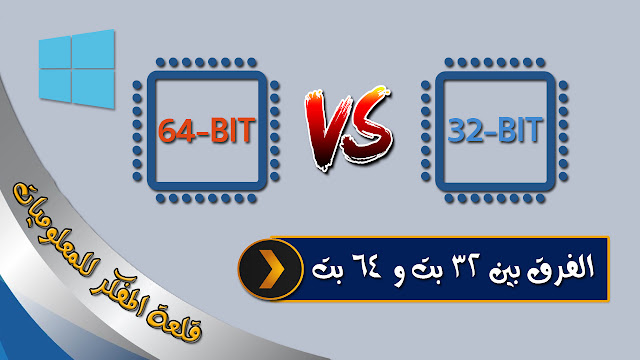 What is the difference between a 32-bit and 64-bit CPU