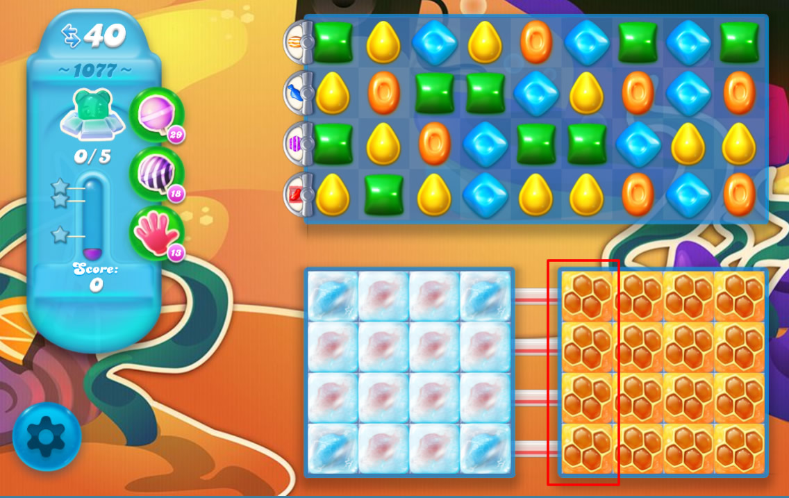 Candy Crush Soda Saga 1077