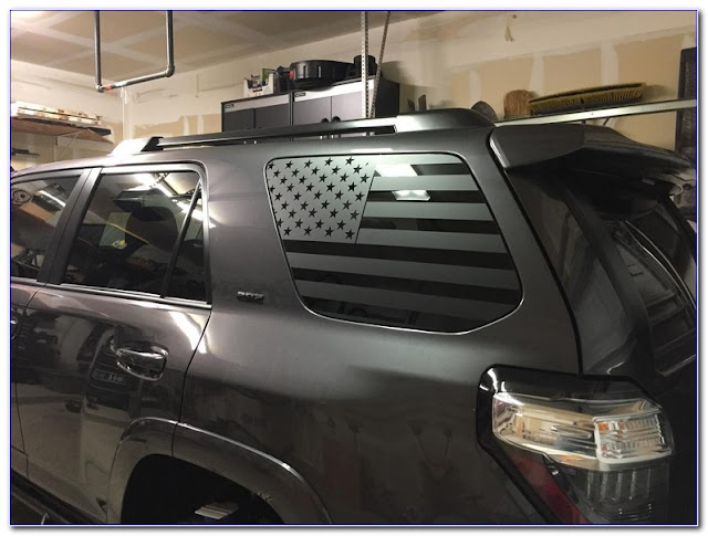 American Flag Car WINDOW TINT Film Pictures