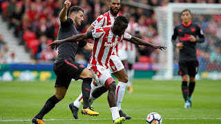 Senegal's Mame Diouf signs new three-year deal at Stoke City