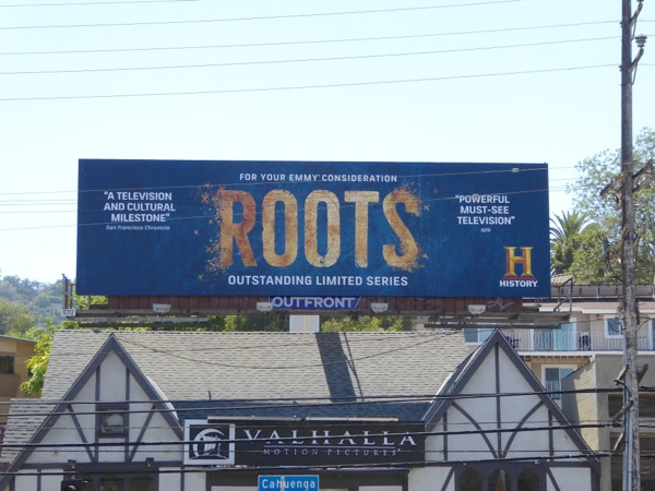 Roots 2016 Emmy nomination billboard