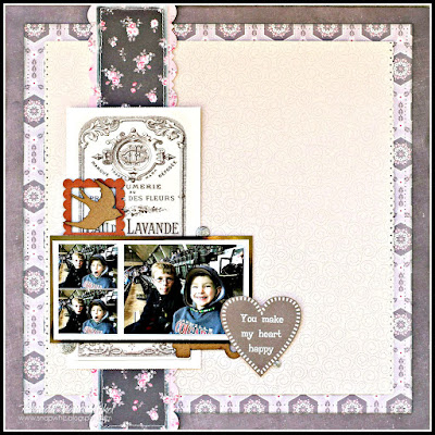 You Make My Heart Happy featuring Always Yours by SEI designed by Rhonda Van Ginkel