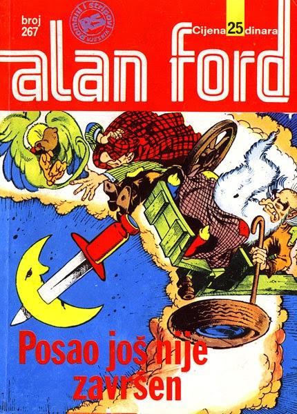 Posao jos nije zavrsen - Alan Ford
