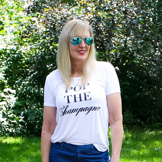 How to Style a Graphic Tee (& Ageless Style Linkup)