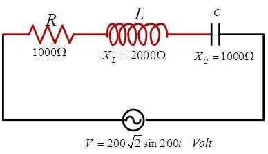 Catatan Teori Fisika Dasar Soal Arus Bolak Balik