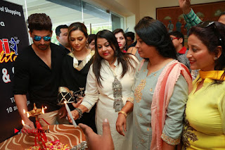 Bollywood Actress Sana Khan Launches Aakrithi Exibition  0424.JPG