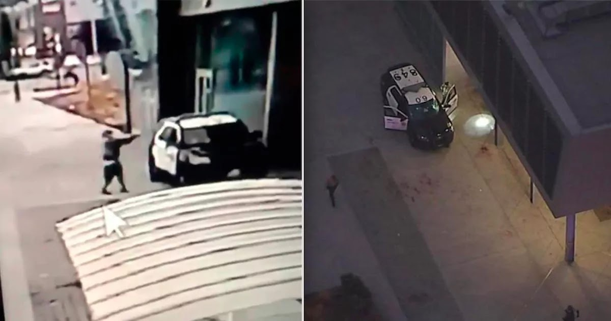 Two Officers Shot In Ambush In Los Angeles, Protestors Have Surrounded The Hospital In Which They Are Being Treated
