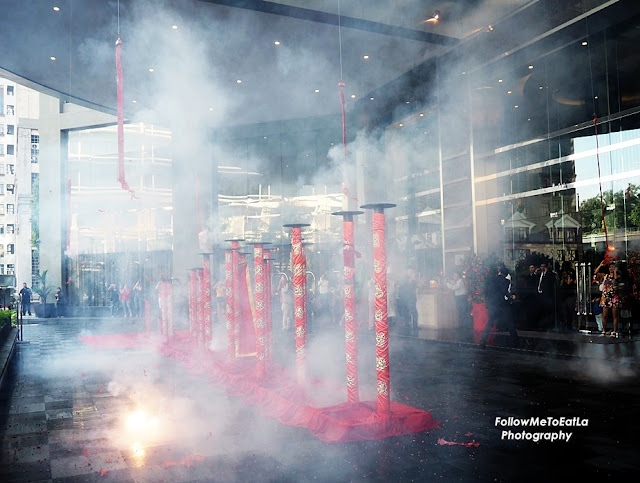 Firecrackers Set Alight