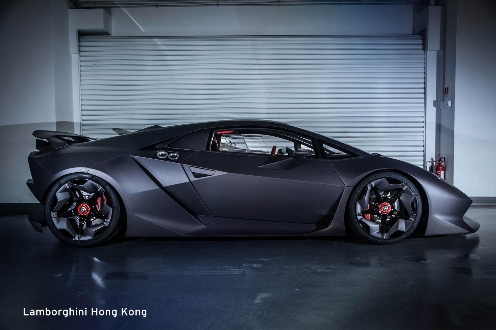 Lamborghini Announces Carbon Fiber Collaboration With