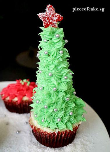 Piece of Cake: Christmas Cupcakes