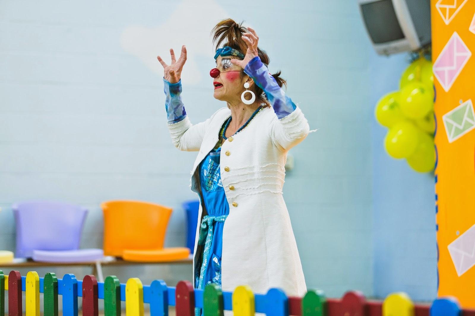 clown,  actriz, payasa, payaso , teatro, teatro infantil payasos sin fronteras