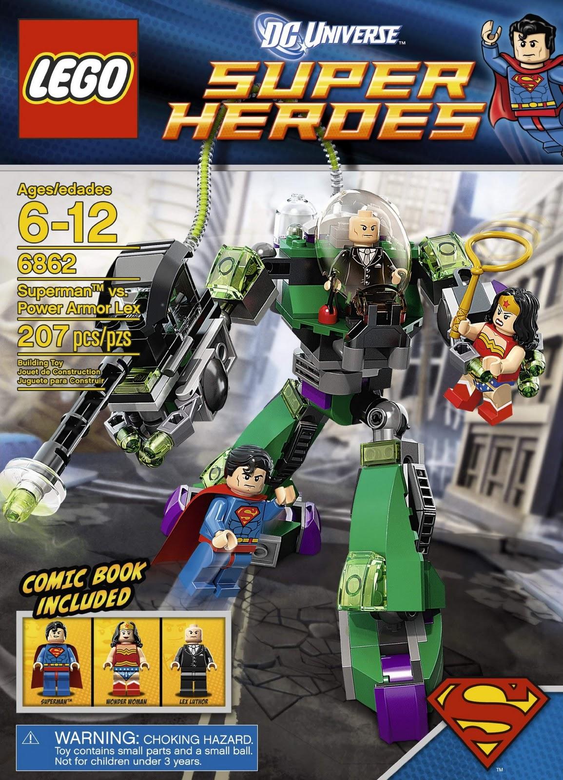 oneTWOBRICK.com: set database: LEGO 6862 superman vs ...