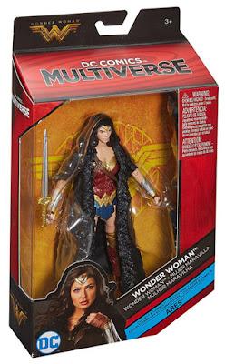WONDER WOMAN La Película - Muñeco - Figura : Mujer Maravilla : Gal Gadot | DC Multiverse | Mattel 2017CAJA JUGUETE