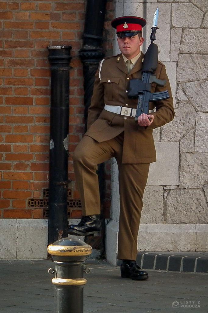 Gibraltarski żołnierz