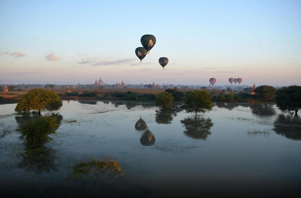 hot air baloon ride bagan