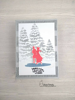 Warm Winter Wishes a card by Diane Morales | Winter Memories Stamp Set by Newtons Nook Designs
