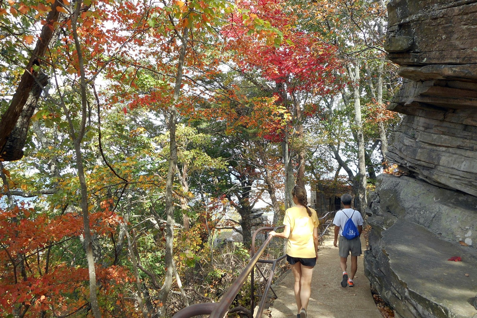 Best Time To See Fall Colors In Chattanooga Tennessee