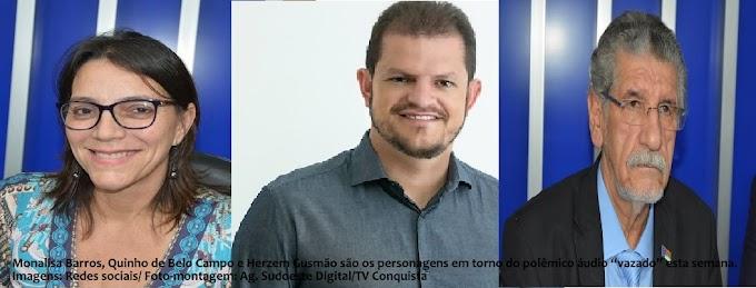 TIROTEIO VERBAL | Vítima de ataques verbais lança nota contra áudio do prefeito Herzem Gusmão