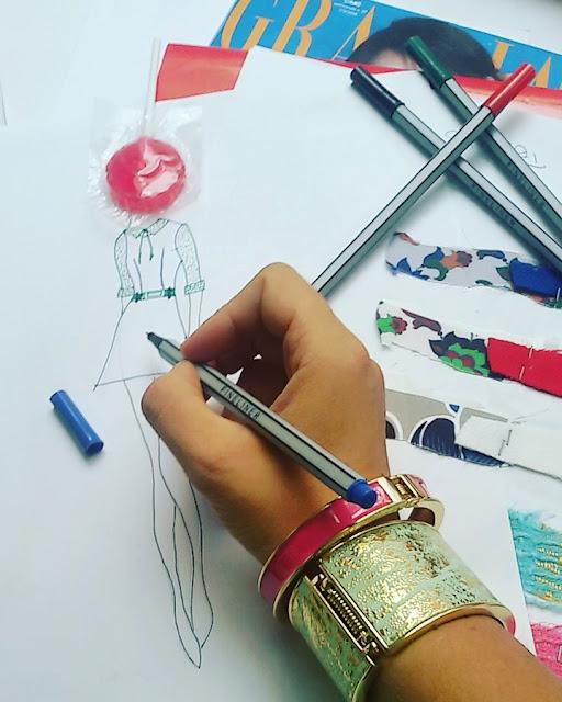 come realizzare una collezione di moda: il bozzetto fashion sketches collezione abbigliamento felicia magno collezione moda felicia magno blogger che diventano stiliste