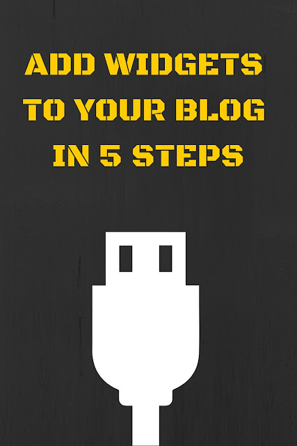 add-widgets-to-your-blog