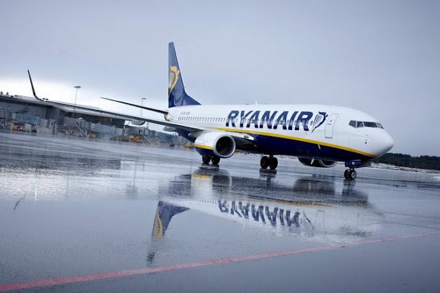 Η Ryanair σταματά τις πτήσεις προς Ελλάδα