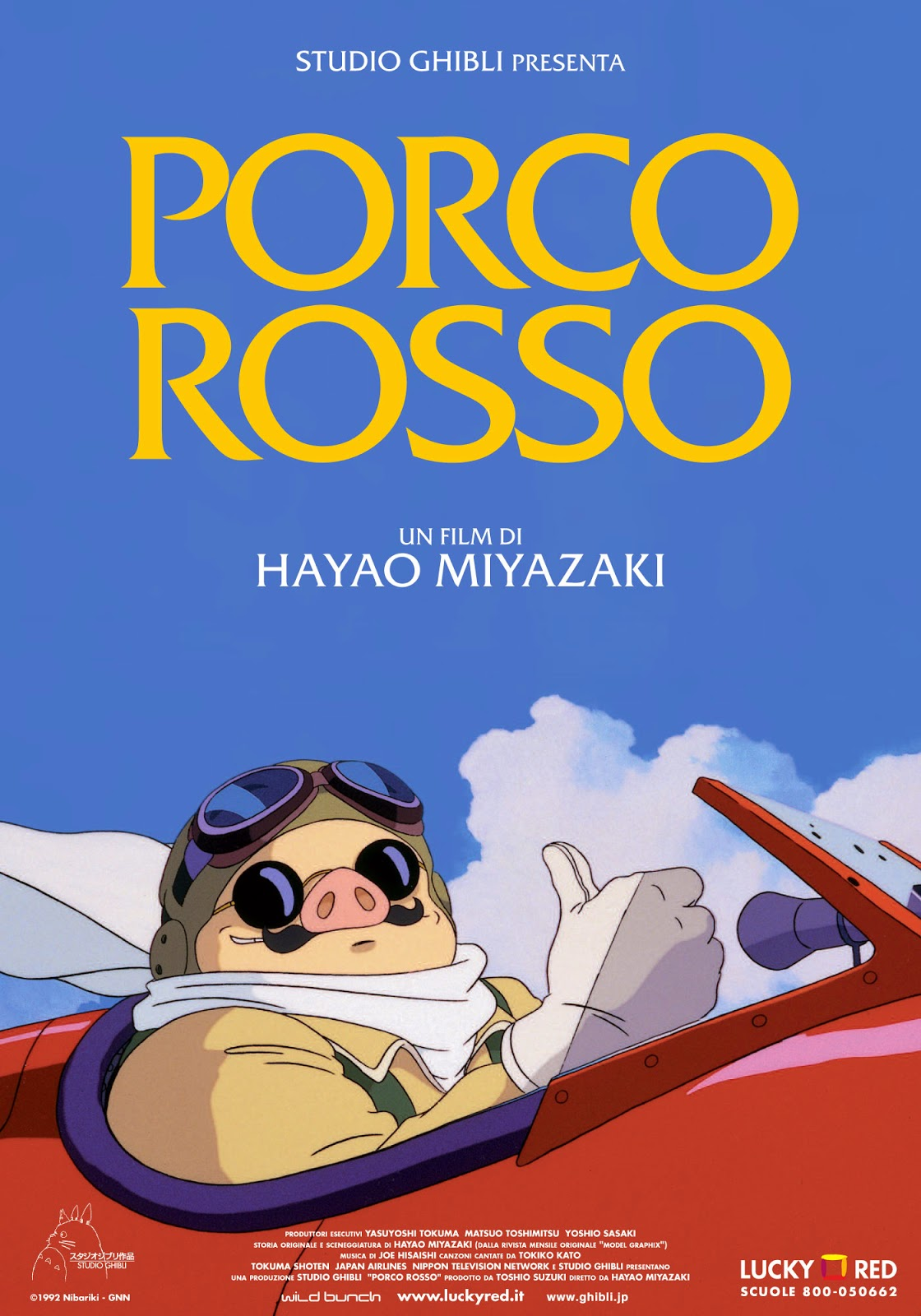 Watch Porco Rosso (1992) Online For Free Full Movie English Stream