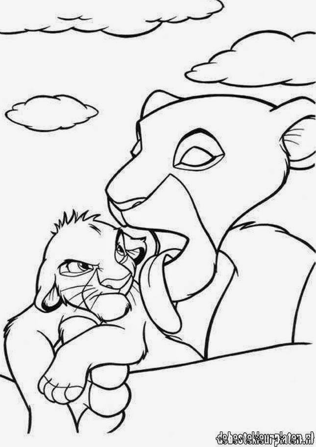 Give Simba's Pride more attention: Lion King Coloring in ...