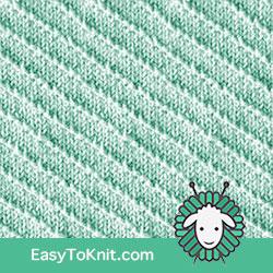 Knit Purl 62: Left Diagonal