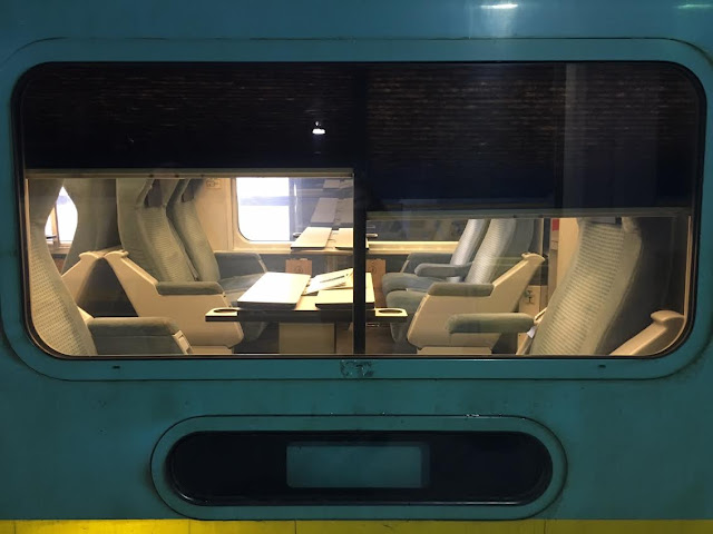 Via Rail Canada first class seating