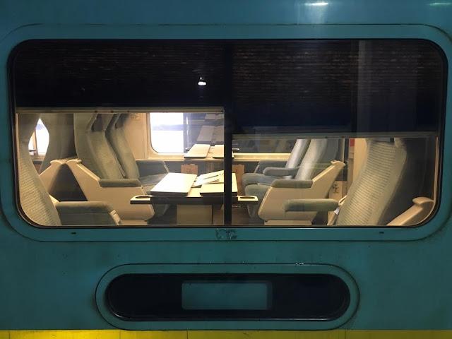 Via Rail Canada first class seating