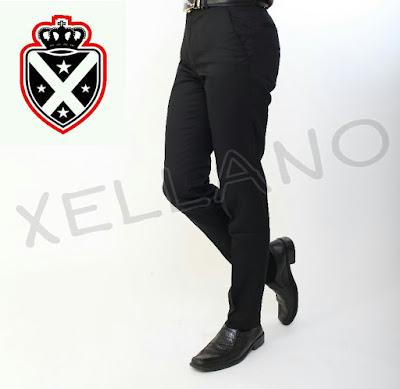 model celana panjang kain pria terbaru, celana kerja pria slim fit executive, celana formal pria murah