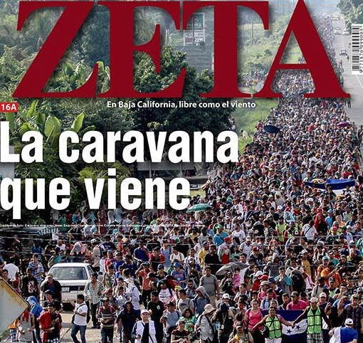 best website 5b16e 23779 Alerta! vienen 30 mil en caravana de  ilegales  a Tijuana