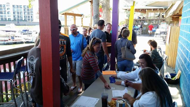 Dog Days Bar & Grill, Lake of the Ozarks, Fall Harbor Hop