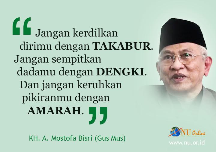 Kata Mutiara Nasehat Buat Umat Islam dari Gus Mus ~ Meme Comic ...