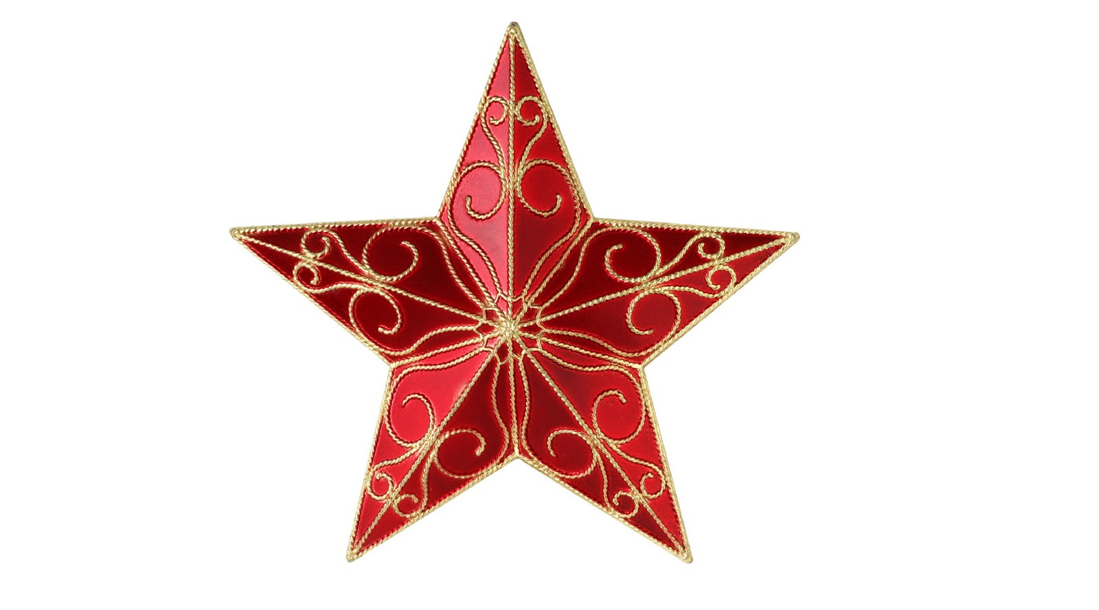Red Christmas Tree Star HD 3D Wallpaper ~ The Wallpaper ...