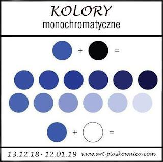 KOLORY - monochromatyczne