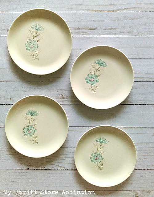 vintage Taylor Smith & Taylor Boutonniere dishes