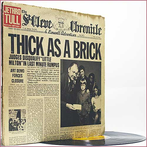 Oldnewrockmusic Jethro Tull Thick As A Brick 1972