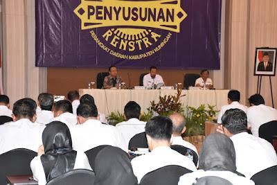 Penyusunan Renstra 2020 Harus Mengacu RPJMD 2018-2023