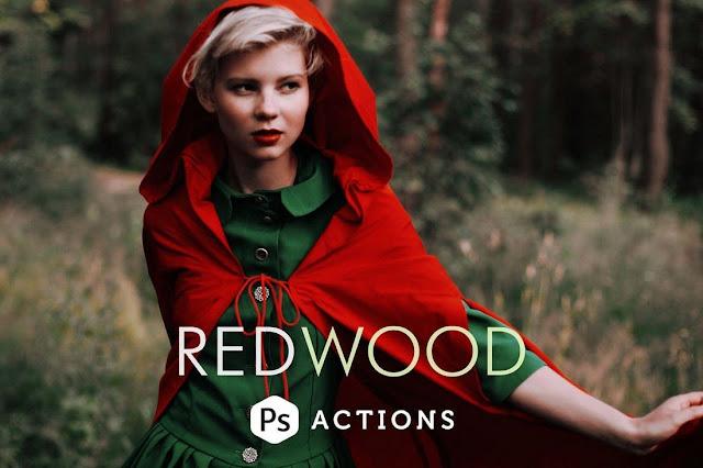 Redwood Fairytale Photoshop Actions