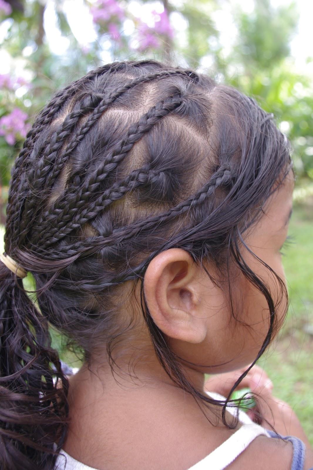 Braids & Hairstyles for Super Long Hair: Micronesian Girl ...