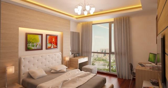 Mẫu thiết kế phòng ngủ chung cư ICID Complex